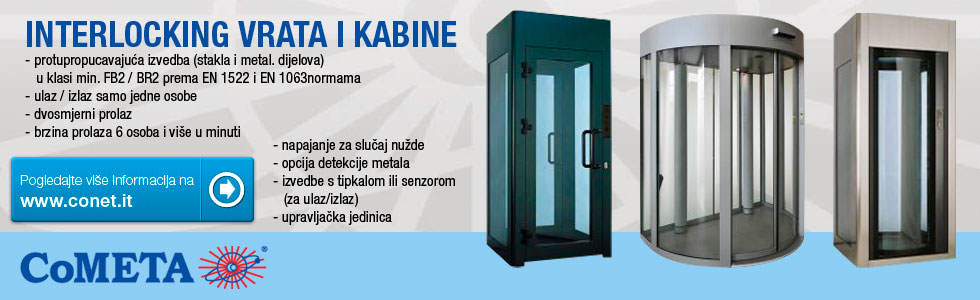 CONET INTERLOCKING VRATA I KABINE